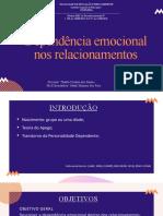 Dependência emocional nos relacionamentos