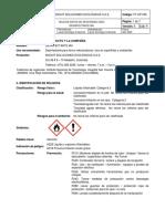 Ft- Amonio Nebulizado Op-080 Sds Desinfectante Mh-V6