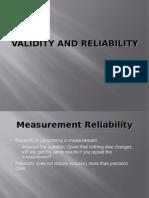 validity&reliability
