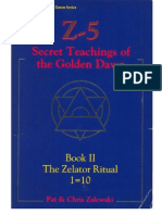 Pat Zalewski - Z-5 - Secret Teachings of the Golden Dawn - Book 2 - Zelator