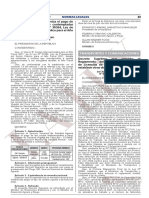 Decreto Supremo Que Aprueba El Reglamento Del Sistema de Con Decreto Supremo No 025 2021 Mtc 1974058 2 Unlocked