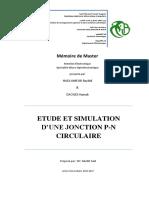 Etude Et Simulation d'Une Jonction PN Radiale