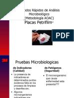 CAPACITACION PETRIFILM PRODUCTO, AMBIENTES Y SUPERFICIES VIRU