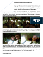 Peringatan Earth Hour 2011 SMAN 10 Malang Sampoerna Academy
