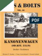 №06 Kanonenwagen Sd.Kfz.251-9
