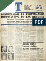 CGT de los Argentinos Nº 19