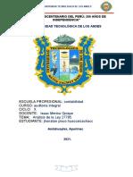 ANÁLISIS DEL MANUAL DE AUDITORIA DE CUMPLIMIENTO  RESOLUCIÓN 025-2021-CG. JHONATAN PISCO