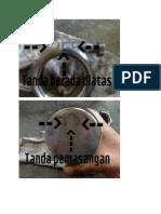 Gambar Laporan Piston & Stang Secker TMD