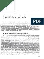 1- El currículum en el aula