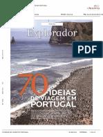 Visão - Ideias de viagens em Portugal