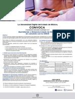Convocatoria bachillerato a distancia UNAM UDEMEX 2021