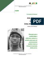 Arte e Educacao Arte Africana Ou Artes A