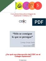 Diagnóstico Colegio Esperanza Presentación