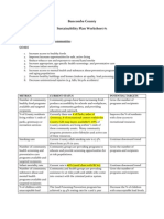 Sustainability Plan Worksheet #1 Foster Healthy Communities draft 3-24-11