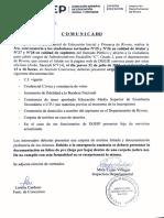 3ra. Convocatoria - Llamado Concurso Administrativo - Esc. C Gdo. 2