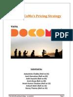 pricing strategy of tata docomo