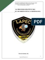 EDITAL PROCESSO SELETIVO 2021.1