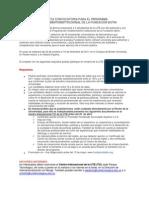 ABIERTA CONVOCATORIA PARA EL PROGRAMA FORTALECIMIENTOINSTITUCIONAL DE LA FUNDACIÓN BOTIN