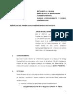 CONTRADICCION DE DEMANDA-PICHINCHA