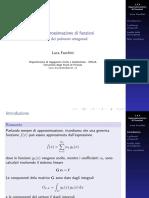 1-03-03 Utilizzo dei polinomi ortogonali