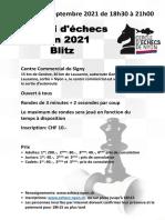 Signy 2021 Tournoi Blitz vendredi