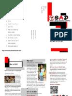 S.A.D. Brochure