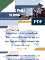 Bienvenida BIS Salvos para servir