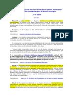 2. Ley de Playas