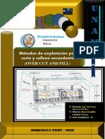 Informe de Metodo de Explotacion Por Corte y Relleno Ascendenete.