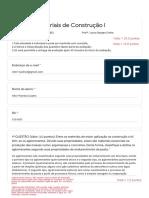 avaliação MCC 1
