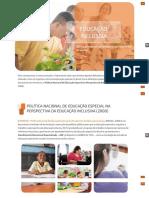 Educação especial como modalidade transversal de ensino