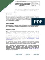 AC-P03 Procedimiento Renovacion de Registro Calificado v3 (1)