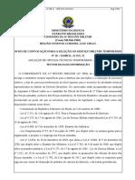 00 - AVISO DE CONVOCACÃO PARA A SELECAO AO SERVIÇO MILITAR TEMPORÁRIO N° 10