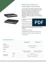 Datasheet MHDX 5208 e 5216_0