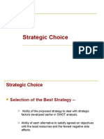 Chapter 3C  Strategy Formulation and choce of alternatives