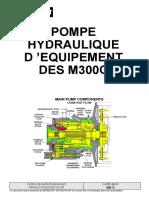 455 S - Pompe hydraulique d'équipement des M300C
