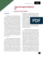Currículo Do Estado SP - Espanhol