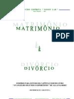 AEE - Apostila Matrimônio e Divórcio