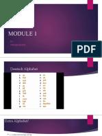 Module 1 New