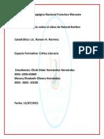Universidad Pedagógica Nacional Francisco Morazán comenario