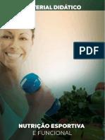NUTRIÇÃO ESPORTIVA E FUNCIONAL