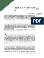 Gilberto Freyre e a Valorização Da Província