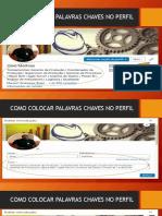 INSERIR PALAVRAS CHAVES