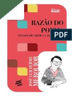 Razão Do Poema Ensaios de Críica e de Estética by José Guilherme Merquior (Z-lib.org).Epub