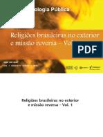 091_ Religiões Brasileiras No Exterior e Missão Reversa – Vol. 1