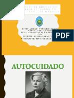 AUTOCUIDADO Y CALIDADDE VIDA