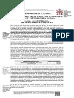 ACTA GENERAL DE PROCLAMACIÓN DE RESULTADOS DE LA ELECCIÓN DE PRESIDENTE Y VICEPRESIDENTE DE LA REPÚBLICA