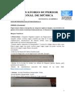 Guía Metodológica Lectura Musical IV