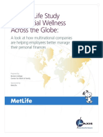 The Met-Life Study of Financial Wellness Across the World