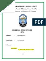 Cinco Fuerzas de Porter Mandujano